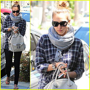 Jessica Alba: Revlon Run/Walk This Week!