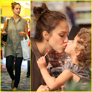 Jessica Alba & Honor Warren: Gymboree Girls