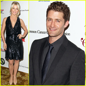 Julianne Hough & Matthew Morrison: 'Taste For A Cure' 2011