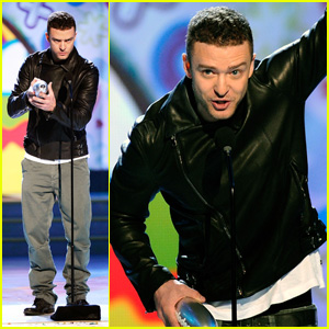 Justin Timberlake: 'Big Help' at KCA 2011!