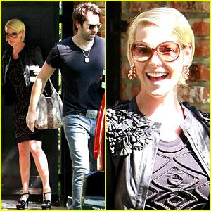 Katherine Heigl Heads to 'Ellen' with Josh Kelley