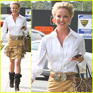 Katherine Heigl: Western Woman!