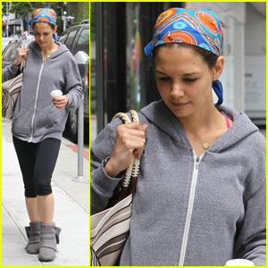 Katie Holmes: Weekend Workout Woman