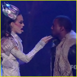 Katy Perry: 'E.T.' Live on American Idol with Kanye West!