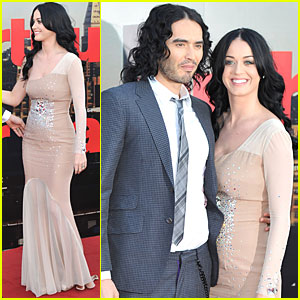 Katy Perry: 'Arthur' UK Premiere with Russell Brand!