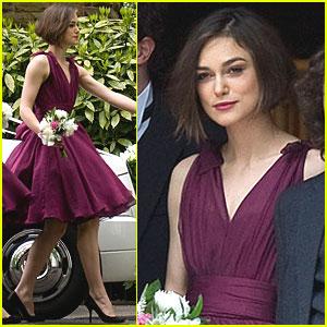 Keira Knightley: Bridesmaid at Brother's Wedding!