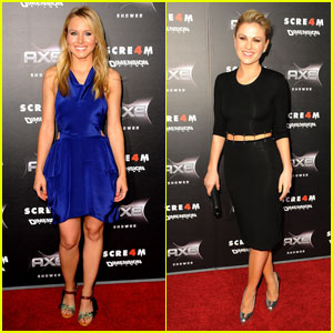 Kristen Bell & Anna Paquin: 'Scream 4' Premiere & After Party!