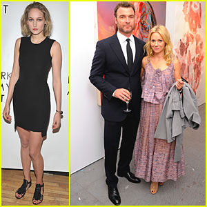 Naomi Watts: Tribeca Ball with Liev Schreiber!