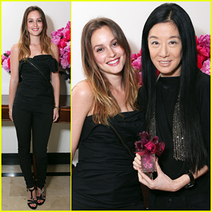 Leighton Meester: 'Lovestruck' Launch with Vera Wang!