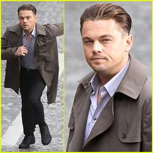 Leonardo DiCaprio Runs For His Life