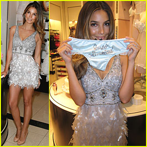 Lily Aldridge: JUST MARRIED! (Just Kidding)