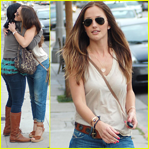Minka Kelly: Full of Love with Chewie!
