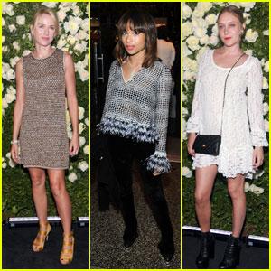 Naomi Watts & Chloe Sevigny: Chanel Tribeca Artists Dinner!