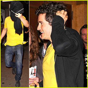 Orlando Bloom: 'Book of Mormon' Man!