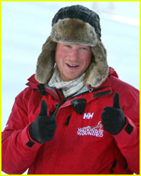 Prince Harry Stranded in Arctic Circle