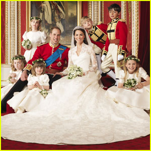 Prince William & Kate Middleton: Official Wedding Pics!