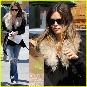 Rachel Bilson: Whole Foods with Mom Janice
