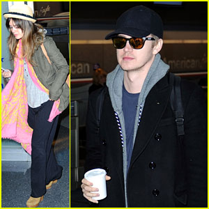 Rachel Bilson & Hayden Christensen: Birthday Vacation!