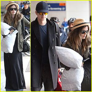 Rachel Bilson & Hayden Christensen: LAX Lovebirds