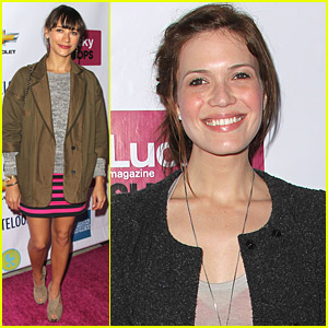 Rashida Jones & Mandy Moore: Lucky Shops LA