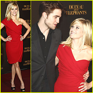 Reese Witherspoon: 'Water for Elephants' Paris Premiere!