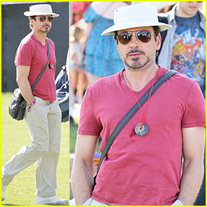 Robert Downey, Jr.: Coachella Concertgoer!