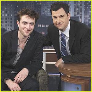 Robert Pattinson: Hammertime on Jimmy Kimmel!