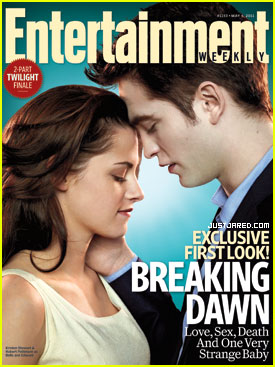 Robert Pattinson & Kristen Stewart Cover 'Entertainment Weekly'