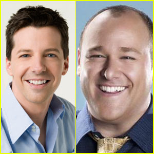 Sean Hayes: Larry Fine in 'Three Stooges'!