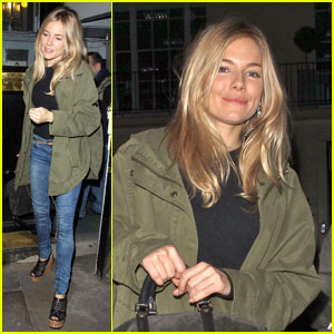Sienna Miller: Nervous about Belly Dancing!