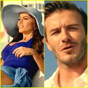 David Beckham & Sofia Vergara: Diet Pepsi Ad Debut!