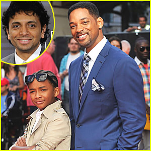 Will Smith & Jaden: M. Night Shyamalan Sci-Fi Stars!