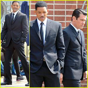 Will Smith & Josh Brolin: Two Men In Black!