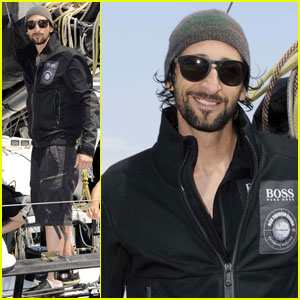 Adrien Brody: Hugo Boss Man in Monaco