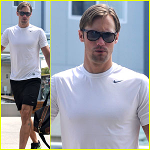 Alexander Skarsgard: Love Scenes Take a Lot of Acting