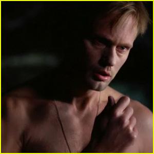 Alexander Skarsgard: 'True Blood' Season 4 Trailer!