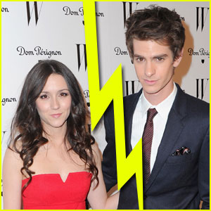 Andrew Garfield & Shannon Woodward Split