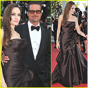 Brad Pitt: 'Tree of Life' Cannes Premiere with Angelina Jolie!