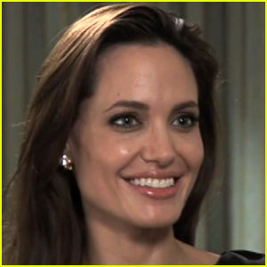 Angelina Jolie Explains Coordinates Tattoo
