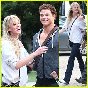 Anne V & Kellan Lutz: Dylan George Photo Shoot!