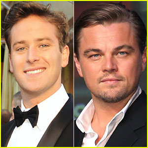 Armie Hammer Talks Leo DiCaprio Kiss