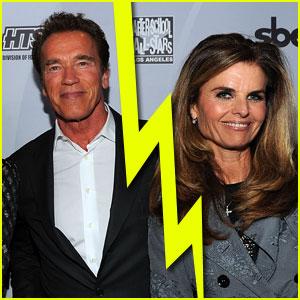 Arnold Schwarzenegger & Maria Shriver Split