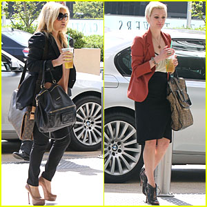 Jessica & Ashlee Simpson: Lawyer's Office with Mom!