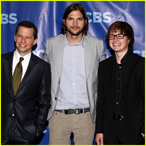Ashton Kutcher: 'Two and a Half Men' at the Upfronts!