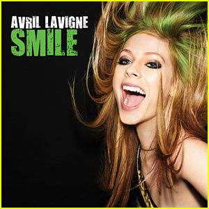 Avril Lavigne: 'Smile' Cover Artwork!