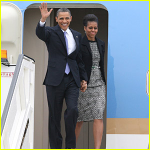 Barack & Michelle Obama Visit Ireland