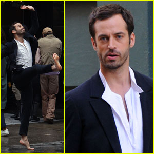 Benjamin Millepied: YSL Men's Fragrance Face!