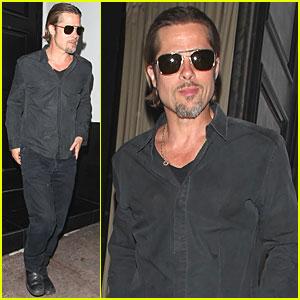 Brad Pitt: Dinner at Beso!