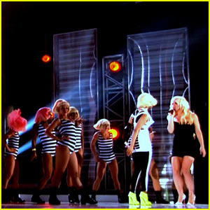 Britney Spears & Nicki Minaj: Billboard Awards Rehearsal!