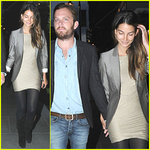 Lily Aldridge & Caleb Followill are Loving London